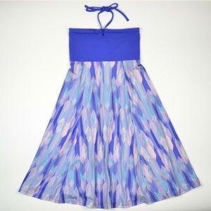 PRANA SOLANA TUBE TOP STRAPLESS STRETCHY DRESS